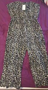 Bnwt Next Maternity Size 16 Jumpsuit Cullotte. Leopard print.