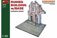 Miniart 36049 1/35 Ruined Building With Base