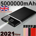 5000000mAh Power Bank 2 USB Fast Charging External Battery Pack Portable Charger