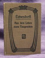 Eichendorff aus dem Leben eines Taugenichts um 1900 Spätromantik Lyrik js