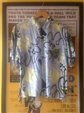 Original Vintage 1950s/80s Men's Zee 2 NOVELTY Graphic PRINT Cotton Shirt S-M/M