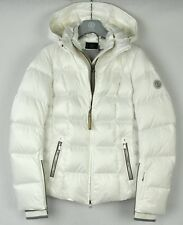 Bogner Womens Vera Down Ski Snow Parka Jacket 3158 4614 off White Size 8 dd7903224