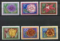 33557) Bulgaria 1974 MNH Flowers 6v Scott #2184/89