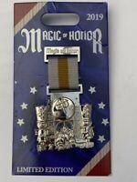 Disney Pin Small World Medal Of Honor LE 2000 Disney Pin