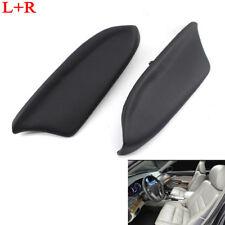 Pair Fit for Honda Accord 2008-2012 Black Sedan LR Door Panel Armrest PU Leather