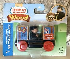 NEW A Day Out With Thomas & Friends Wooden Train Traveling Sir Topham Hatt FWD26