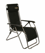 NEW OZtrail Sun Lounge Daybreak recliner camping, fishing, sport chair - FCB-LOD