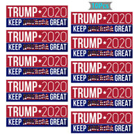 10PCS/Set Donald Trump 2020 Make America Great Car Bumper Stickers Decal 2020