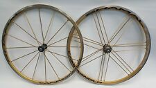 Campagnolo Shamal Ultra Gold 700C with Carbon Hubs
