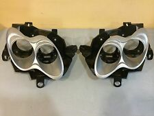 Smart Fortwo Headlamp Front Bezel Right and Left and Back Housing 1 Set