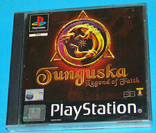 Tunguska Legend of Faith - Sony Playstation - PS1 PSX - PAL