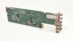 Grass Valley Miranda HDA-1931 Dual 3G/HD/SD SDI Distribution Amplifier w/ Fiber