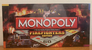 Monopoly Firefighters 2009 First Edition - BRAND NEW UNOPENED Hard To Find 🎁
