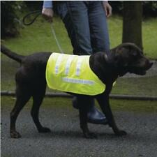 Dog Coat Reflective Safety Vest Yellow Pet Small Medium Large Glow in Dark