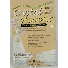 Crystal Accents Diamond White Water Storing Gel - Makes approximately 8.5 Pints