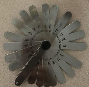 Starrett No. 66 Machinist Thickness Gage, USA, Very High Quality, Nice!