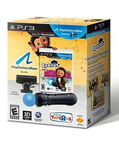 PlayStation 3 Eyepet Move Bundle With Eye Camera And Motion Controller 8Z