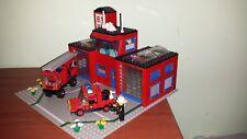 lego fire house 6385 caserma pompieri vigili del fuoco