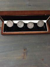 Queen Victoria Silver Crown coin Set Of 4