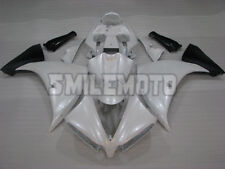 Fairing Pearl White Injection ABS Plastic Fit for 2012-2014 Yamaha YZF R1 g08