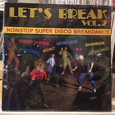 [SOUL]~[VARIOUS ARTISTS]~EXC LP~LET'S BREAK~VOL #2~NONSTOP~[RED VINYL]~GERMAN IM