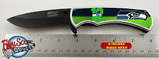 Seattle Seahawks 12th man 12er Limited Edition Spring Assisted Knife with clip