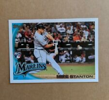 2010 TOPPS UPDATE GIANCARLO MIKE STANTON RC ROOKIE CARD US-50 YANKEES