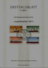 "Berlin MiNr 544-547 ETB 7-77 ""Jugend 1977:Deutsche Schiffe"" 546 Passagierschiff"