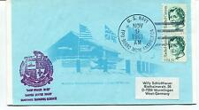 "1981 U.S. Navy ""Deep Freeze""  Chalet McMurdo Polar Antarctic Cover"