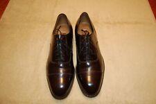 Men's Johnston & Murphy, size 10 D/B oxford dress shoes, burgundy / cordovan.