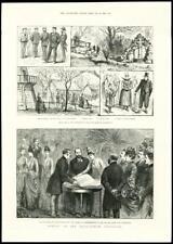 1888 - LONDON KENSINGTON ANGLO DANISH EXHIBITION PRINT PRINCESS WALES (140)
