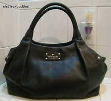 Authentic KATE SPADE Berkshire Road Stevie Shopper in Black Leather - REDUCED!