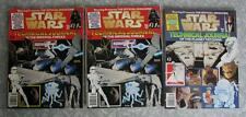 Star Wars Technical Journal mag Vol 1 + pair Vol 2 w/Glossy vs Matte fold-outs