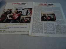 I242 CELINE DION JEAN-JACQUES GOLDMAN  '2000s FRENCH CLIPPING