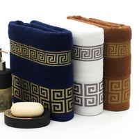 New 3 pcs Cotton Bath Towels for Adults 70x140cm 34x74 Bathroom Super Absorbent