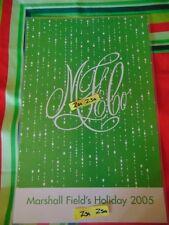 Marshall Field's Menu Walnut Room  2005 Last Year for Fields !  Great Gift!