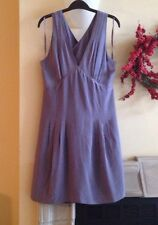Banana Republic lavender silk cross back dress, 12P, NWT $130