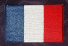 FRANCE FLAG EMBROIDERED PATCH FRENCH FLAG FRANCAIS FLEUR DE LIS