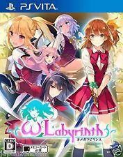 Used PS Vita Omega labyrinth SONY PLAYSTATION JAPANESE IMPORT