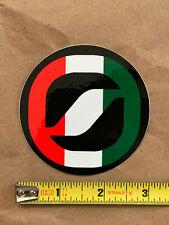 """Scarpa logo sticker decal, genuine, original, 3"""" diameter, New"""