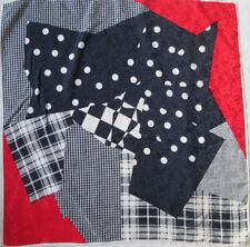-Superbe Foulard FASHIONS soie  TBEG  vintage Scarf  88 x 88 cm