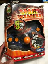 Retro Games Radica Space Invaders Plug-N-Play Plus 5 Taito Games (Open Box)