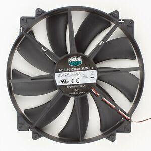 Cooler Master   200x200mm Refurbished Black 3-Pin Case Fan   A20030-07CB-3MN-F1