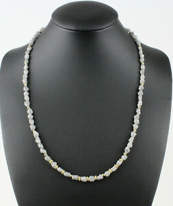 Rohdiamant Chain Precious White Natural Size Roh-Diamant 67 Carat / 18 1/2in