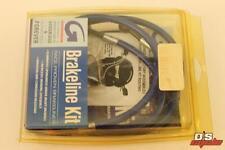 NEW GOODRIDGE SUZUKI 1997-98 GSXR600 GSXR750 KEVLAR FRONT BRAKE LINES SU2427-2FD
