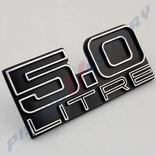 5.0 LITRE Boot Lid Badge New for HOLDEN HJ HX HZ Kingswood Monaro GTS Trunk
