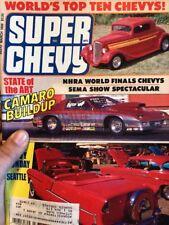 super chevy magazine March 1988 Nhra World Finals Worlds Top Ten Chevys