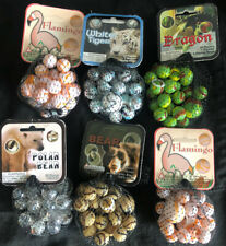 Mega marbles. 24/1 6 Pack. The Grab Bag Of Animal Life In Marbles