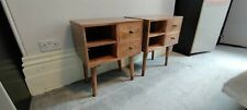 Pair Of Solid Wood  Coast Side Tables