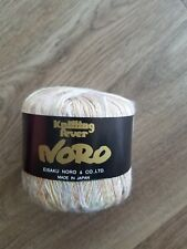 Noro Miho Lace Knitting Yarn Rayon 20 Silver Gold